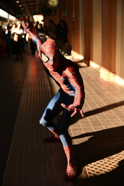 The Amazing Spiderman al #LuccaComicsAndGames #2016 #Lucca