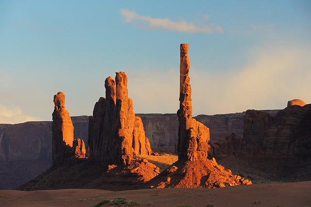 Arizona: Yei Be Chei and Totem Pole