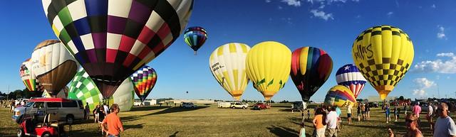 Hot Air Balloon Race - Jasper, Indiana