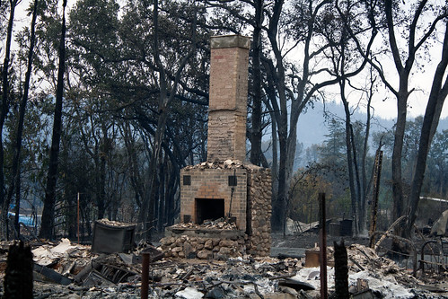 Valley Fire Damage - Creative Commons - Middletown, California