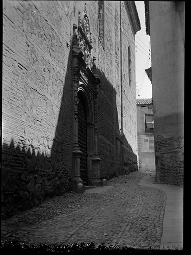 Convento de San Clemente enToledo hacia 1920. Fotografía de Enrique Guinea Maquíbar © Archivo Municipal de Vitoria-Gasteiz