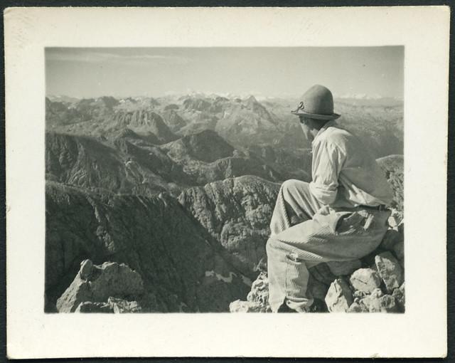 Archiv C065 Fernblick im Gebirge, 1940er