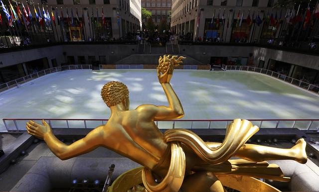 Titan Prometheus at Rockefeller Square