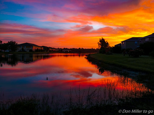 venice sky lake sunrise reflections landscape us unitedstates florida skyscapes hdr goldenhour skycandy 3xp 3exposures hdrphotography phonehdr millerville droid2