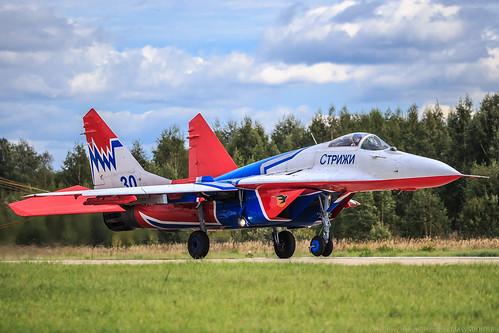 "MiG-29 ""Swifts"" (""Strizhi"") | by RealHokum"