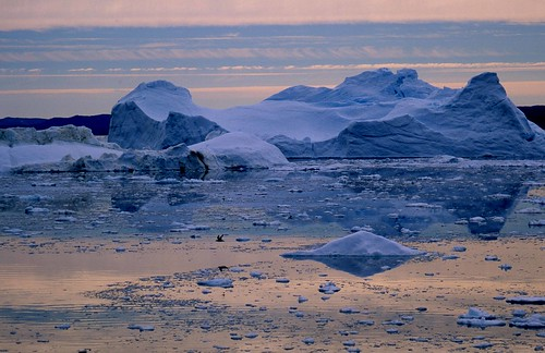 Loss of Ice in Greenland, Icebergs in Disco Bay | by GRIDArendal