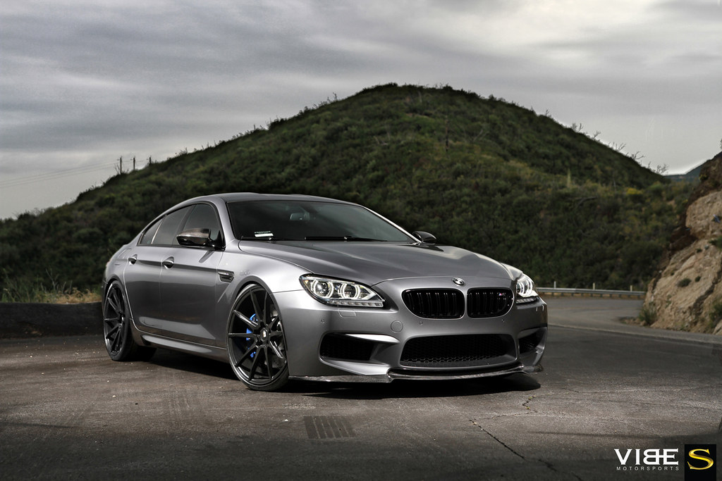 Bmw M6 Gran Coupe On 22 Savini Bm12 Matte Black Wheels Flickr