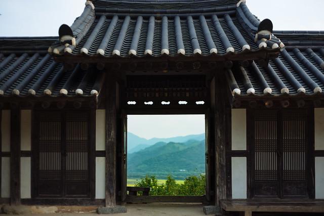 하동 최참판댁, Korea old house.