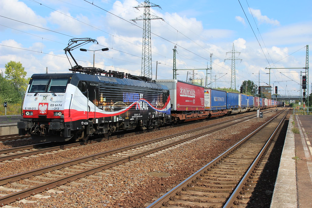 ERS Railways 189 213 at Berlin Schönefeld Flughafen 10 september 2015