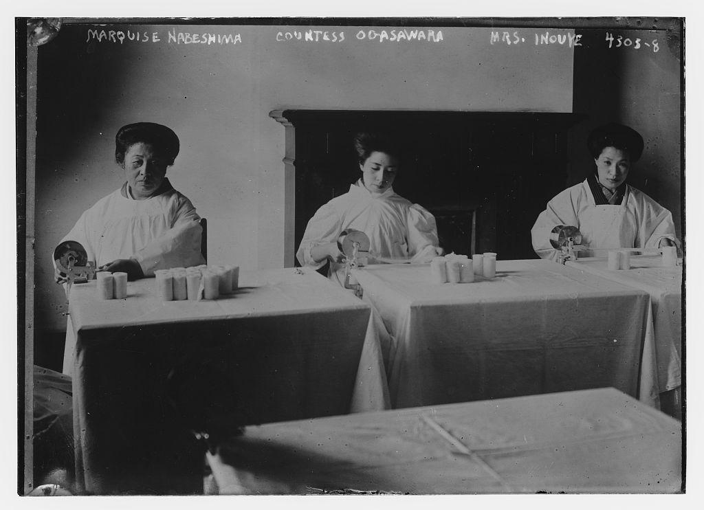 Marquise Nabeshima, Countess Ogasawara, Mrs. Inouye (LOC)