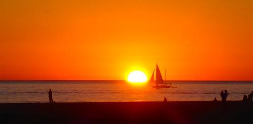 sunset sunrise sunsets boating sailboats adamhall manversusnature trackhead trackheadstudios trackheadxxx