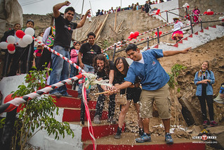Peru-Stair Inauguration with Beer Smashing | by medlife.mcgill