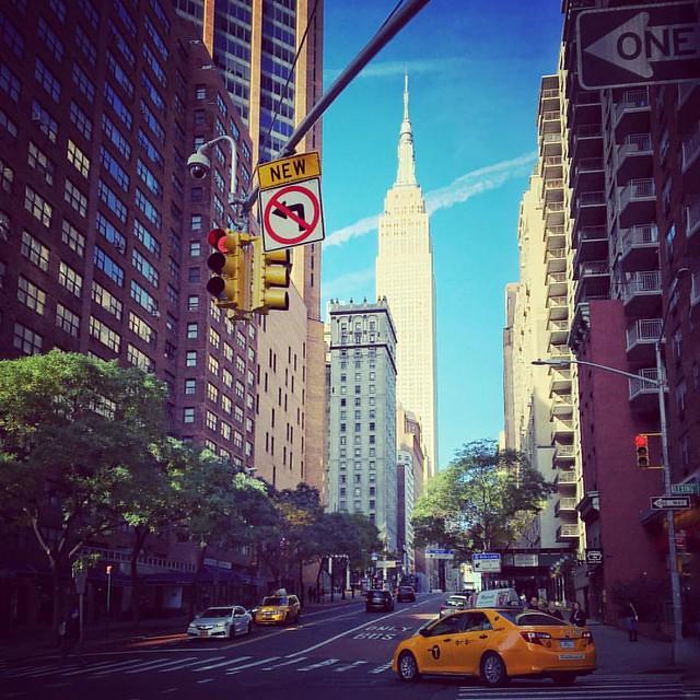 The Empire. . #instadaily . #nyc #newyork #NY . #street . #automn