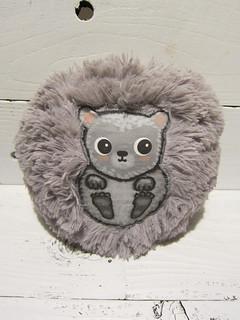 Gray Hedgehog Plush