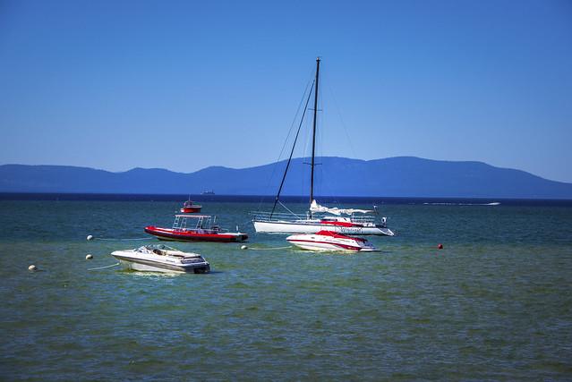 View to Lake Tahoe - California