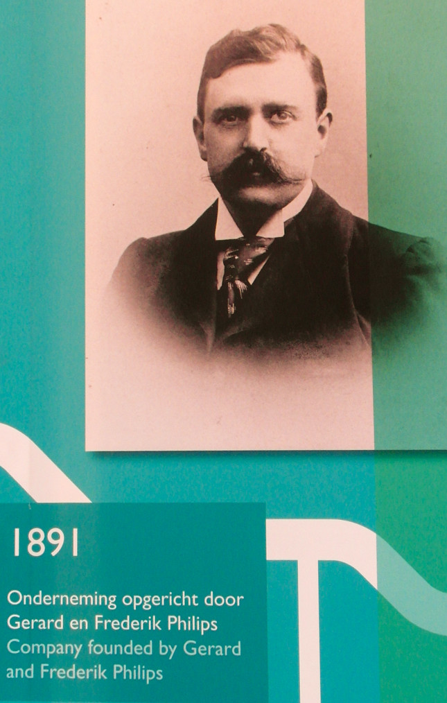 04-Philips Museum Eindhoven 1891 Gerard and Frederik Phili