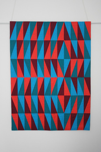 Facets quilt | by thecharmingneedle