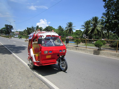 maco compostela valley mindanao tricycle transportation philippines asia world