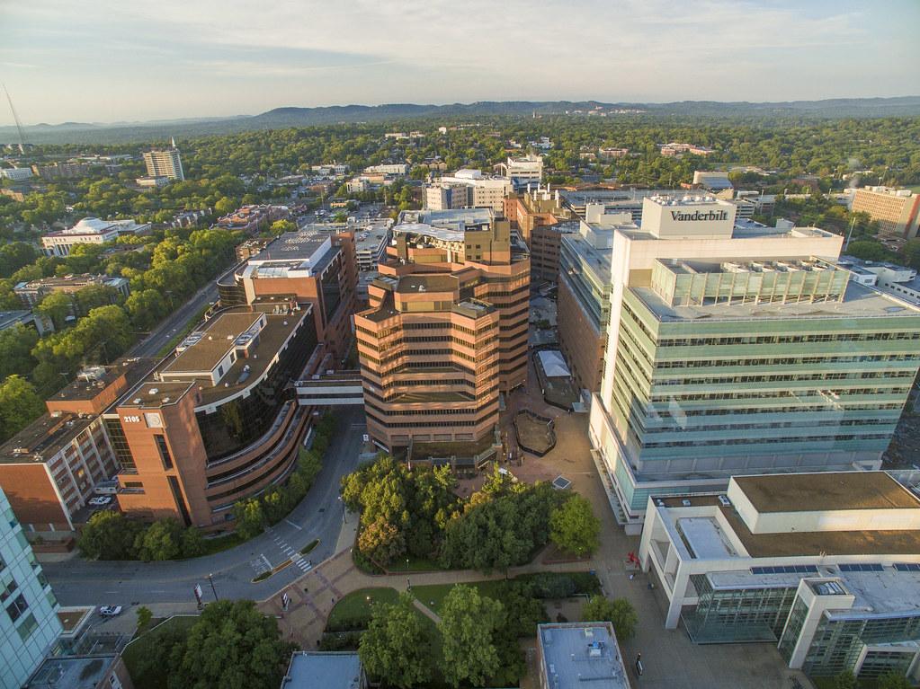 VUMC | Aerial images of Vanderbilt University Medical Center