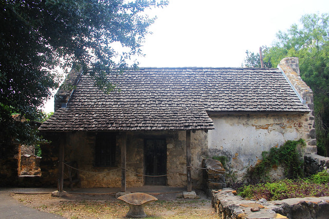 House at Mission San Juan