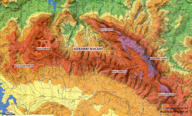AIZKORRI raizk021 mapa 02 situación NONDIK Aranzadi valles Degurixa y Araotz