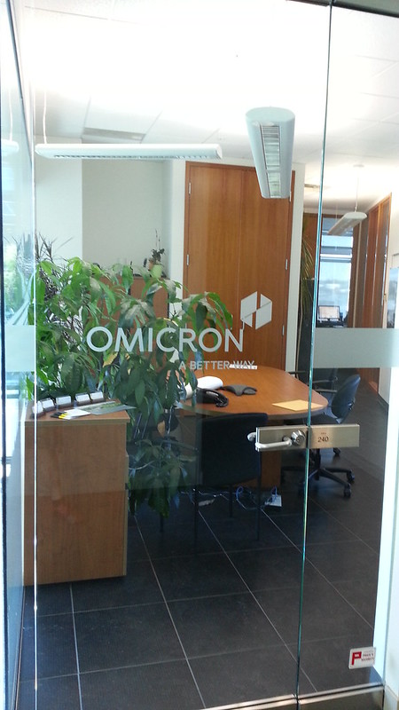 Omicron glass or plexi etch