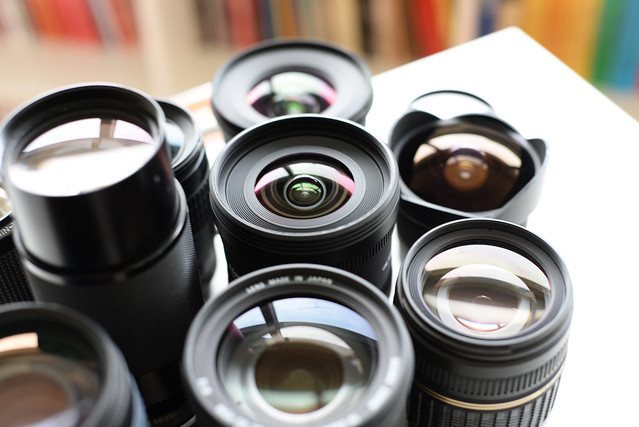 Camera lenses - atana studio