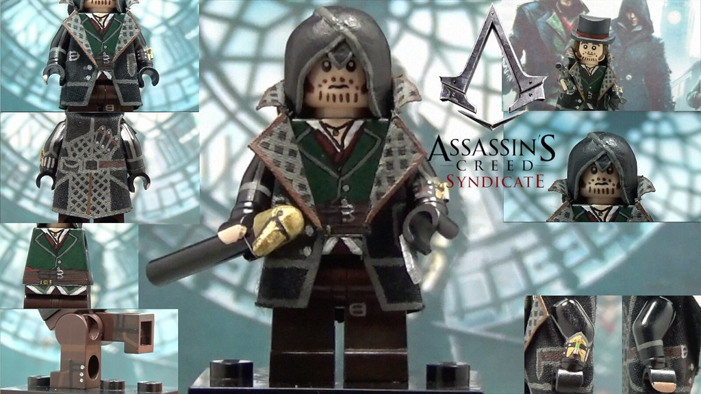 Lego Assassin S Creed Syndicate Jacob Frye Custom Minifigu Flickr