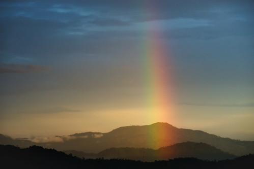 sunset mountains landscape rainbow tokina vivitar vintagelens vivitarseries1 vivitarseries170210mmf35vmctokina