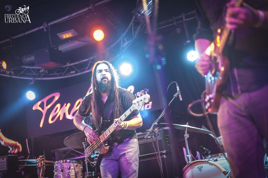 Concierto de Julian Maeso y The Soul JAcket en la sala Penélope. Madrid (31-10-2015)