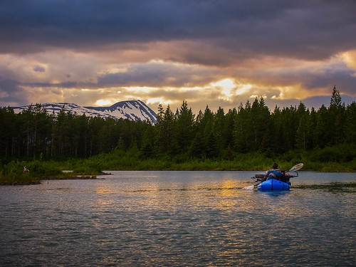 Bikerafting Portage Creek | by Wandering by Bicycle