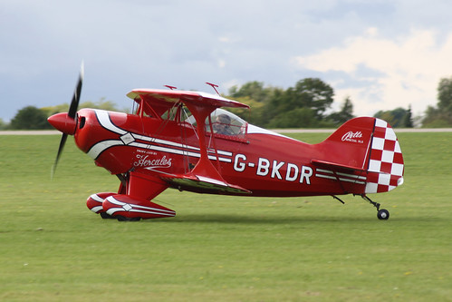 G-BKDR Pitts S-1S [PFA 009-10654] Sywell