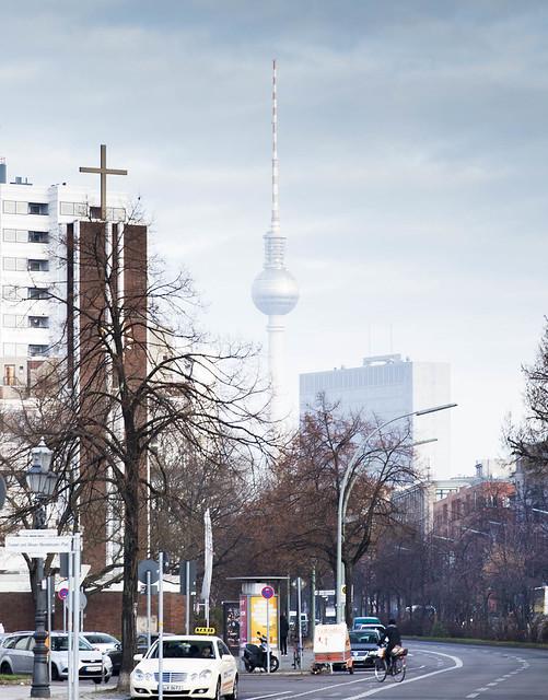 Berlin - Fernsehnturm, Alexanderplatz