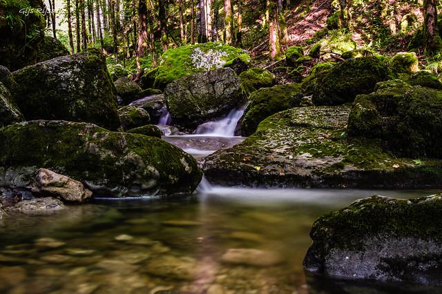 Hérisson waterfalls