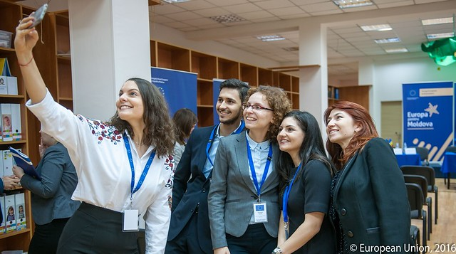 'Young European Ambassadors' in the Republic of Moldova