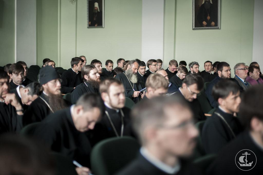 30 сентября 2015, Ежегодная научно-богословская конференция / 30 September 2015, An annual scientific and theological conference