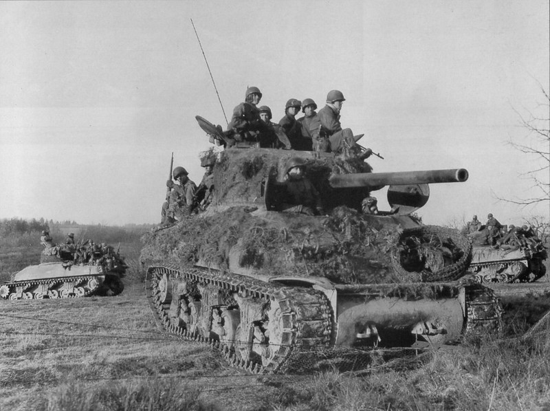 M4A1(76)W from 2nd Armored Division