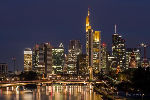 Frankfurt at night