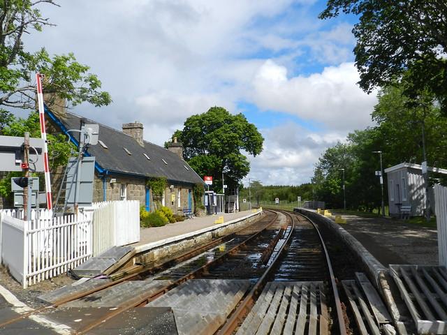 Forsinard Railway Station, Forsinard, Sutherland, July 2015