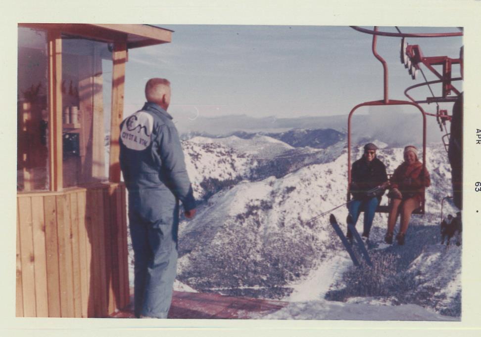 Crystal Mountain Ski Resort April 1963