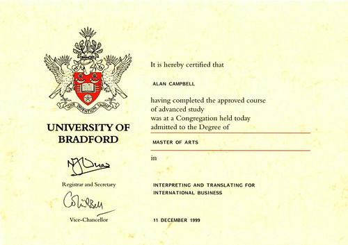 certificate ma cams
