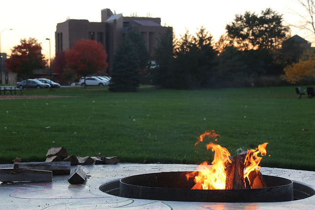 Fire Pit Dedication