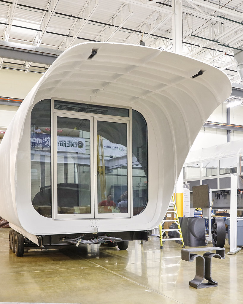 ARRIVAL OF THE AMIE 3D PRINTED HOUSE AT NTRC OAK RIDGE