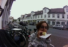 tasty brunch in Bad Karlshafen, June 2015
