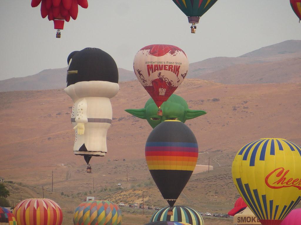 Great Reno Balloon Race, Reno, Nevada | The Great Reno Ballo