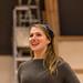 Charlotte Miranda Smith in rehearsal