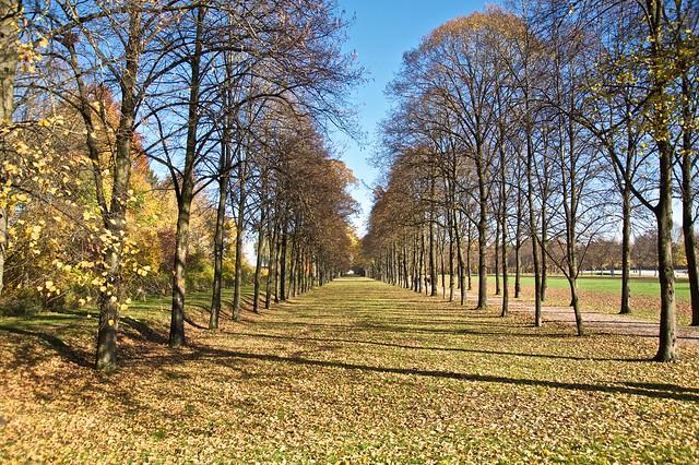 Herbstspaziergang - Schloss Oberschleißheim