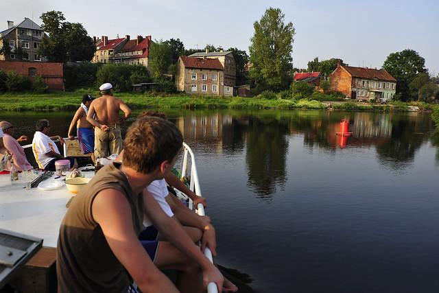 Kaliningrad Gebiet Bootsausflug Pregel Прегель (c) 2016 Бернхард Эггер фото :: ru-moto images 4354