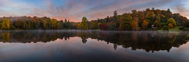 Dawn at Stourhead