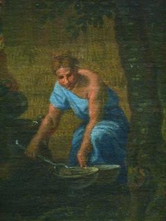POUSSIN Nicolas,1660-64 - L'Eté, Ruth et Booz (Louvre) - Detail 18 | by L'art au présent